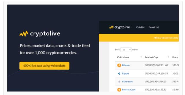 CryptoLive - Cryptocurrency WordPress Plugins