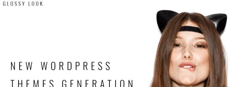 Glossy Look - Fashion WordPress Themes