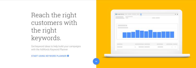 Google Keyword Planner- WordPress SEO Tools