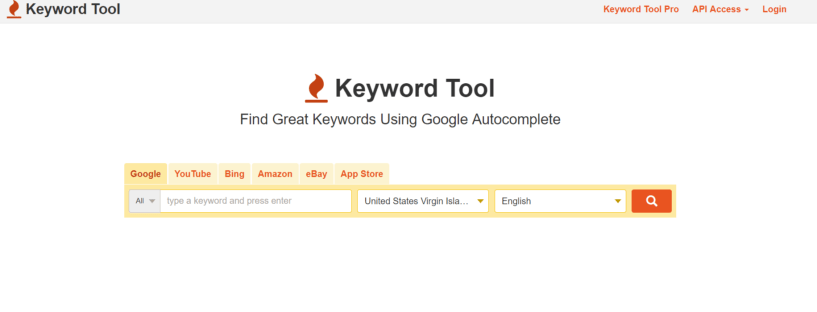 Google Keyword Tool- WordPress SEO Tools for dropshipping