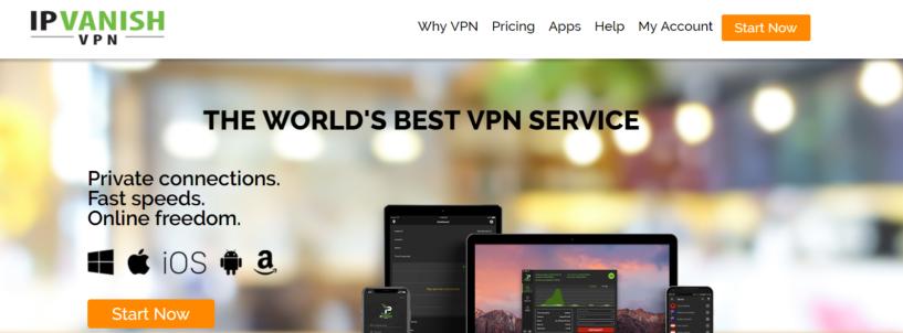 IPVanish- Best VPN For Portugal