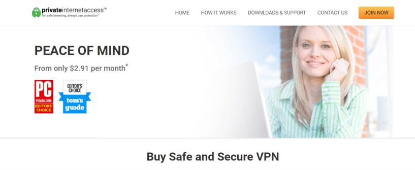 PIA- Best VPN For Estonia