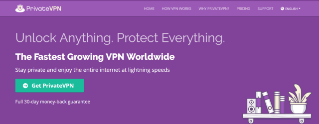 PrivateVPN - Best VPN For Egypt