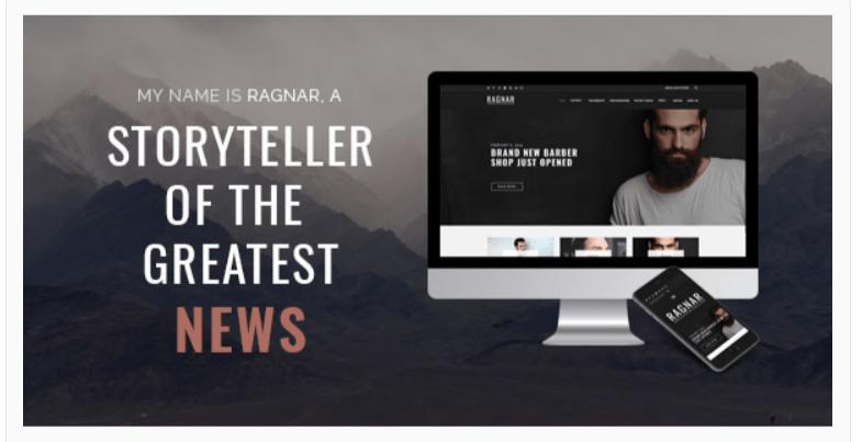 Ragnar - Fashion WordPress Themes