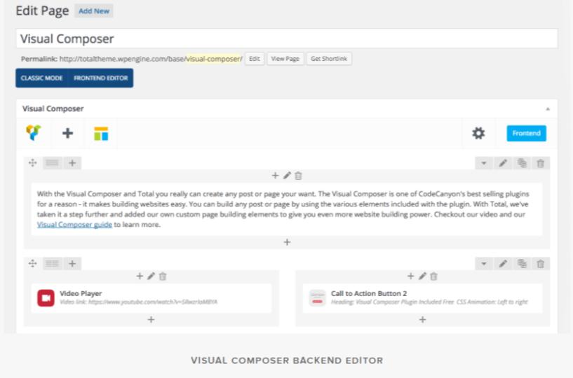 Visual Composer Editor- Visual Composer Drag & Drop Page Builder