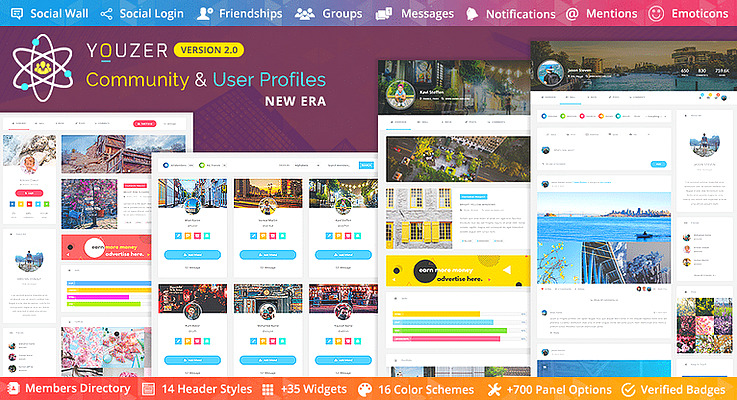 Youzer - WordPress User profile