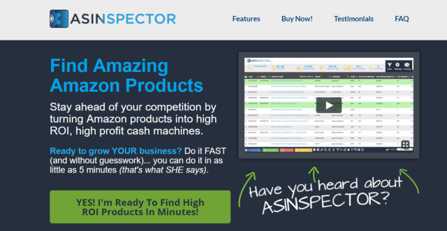 ASINspector Review- Best Tool To Find Wining Amazon Products