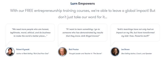 Lurn Review- Courses For Entrepreneurs