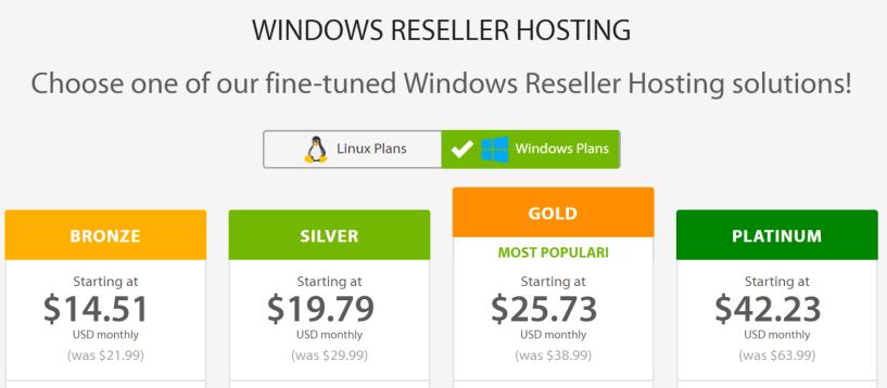 Windows Reseller Web Hosting - A2 Hosting Review