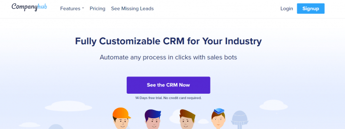 CompanyHub Review: Fully Customized CRM