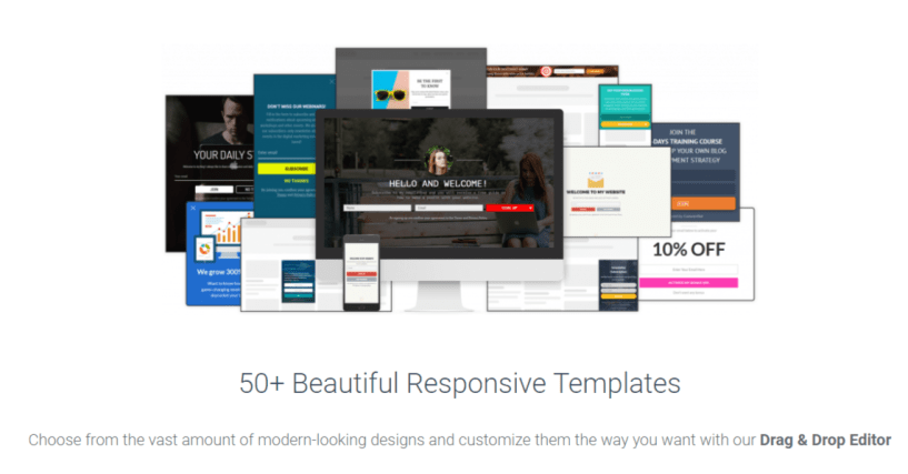 Responsive Templates — Convertful Review