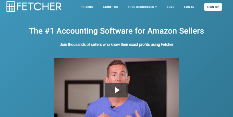 Fetcher Review 2019 Is It #1 Accounting Software for Amazon