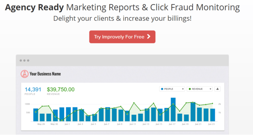 Improvely Review With Coupon Codes- White Label Marketing Reports for AgenciesImprovely Review With Coupon Codes- White Label Marketing Reports for Agencies