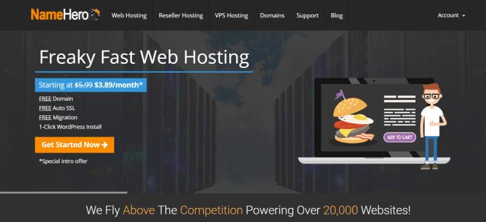 NameHero Coupon Codes- Best WordPress Hosting And Reseller Hosting