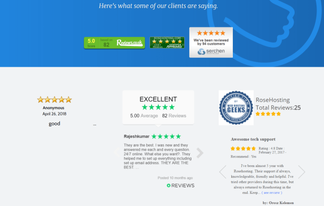 RoseHosting Review With Coupon Codes- Customer Reviews