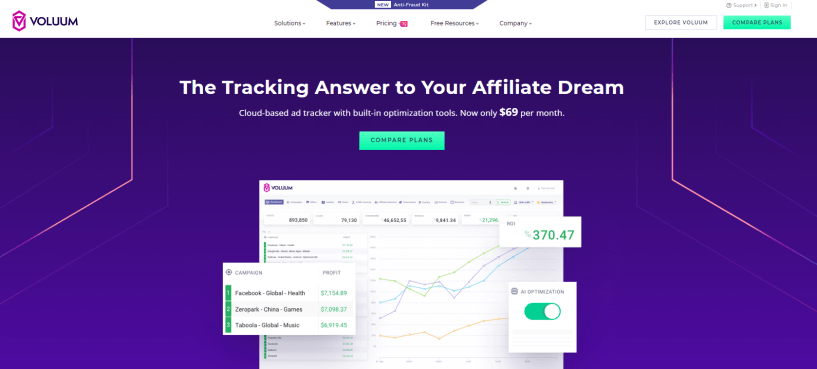 Voluum Review- Affiliate Marketing Tracker