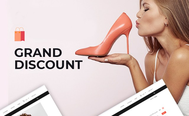 Grand Discount - Fashion & Fitness Clothing WooCommerce Theme