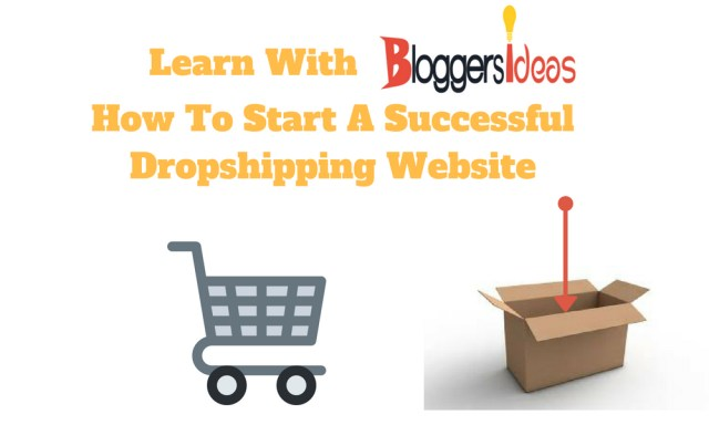 How To Start A Successful Dropshipping Website