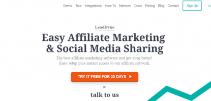 LeadDyno Coupon Codes- Easy Affiliate Marketing