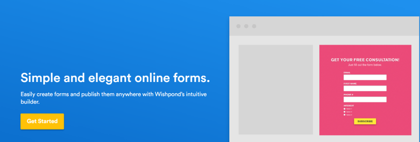 Wishpond Review- Easy Online Form Builder