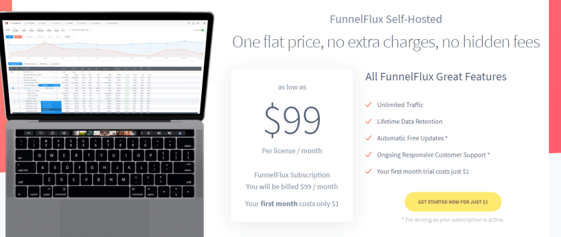 funnelflux self managed- Best Thrive Affiliate Tracker Alternatives