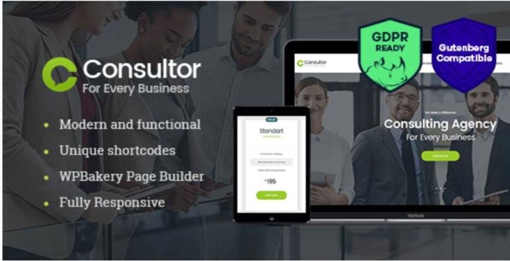 Consultor - Best Job WordPress Theme
