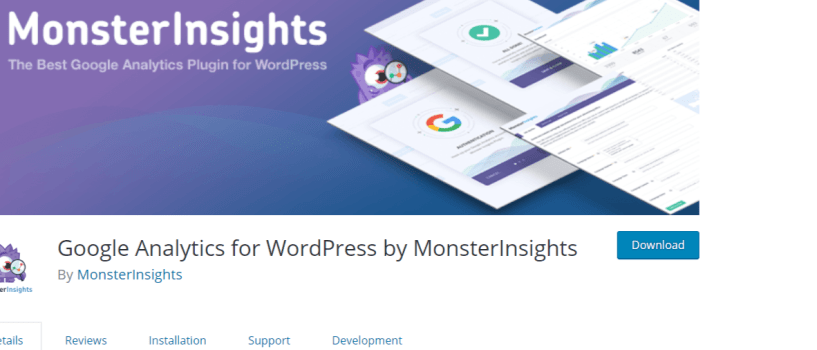 Create A Blog Easily- Google Analytics By Monster Insights