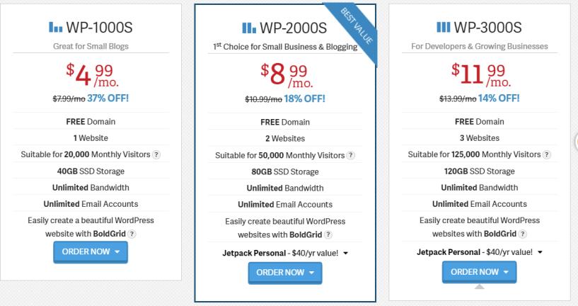InMotion Hosting Review- WordPress Hosting Plans