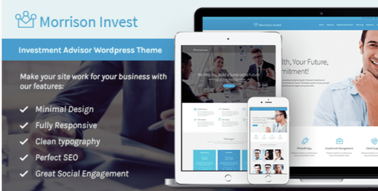 Investment- Best Job WordPress Themes