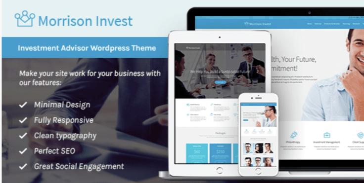 Investment- Best Job WordPress Themes