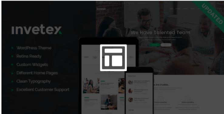 Invetex - Best Job WordPress Themes