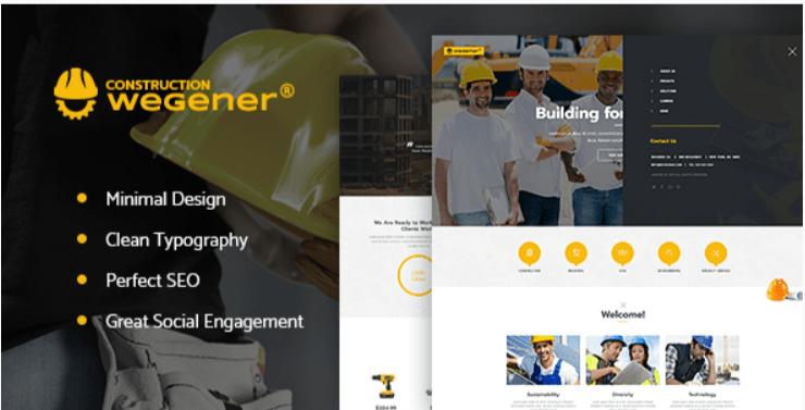 Wegener - Best Job WordPress Themes