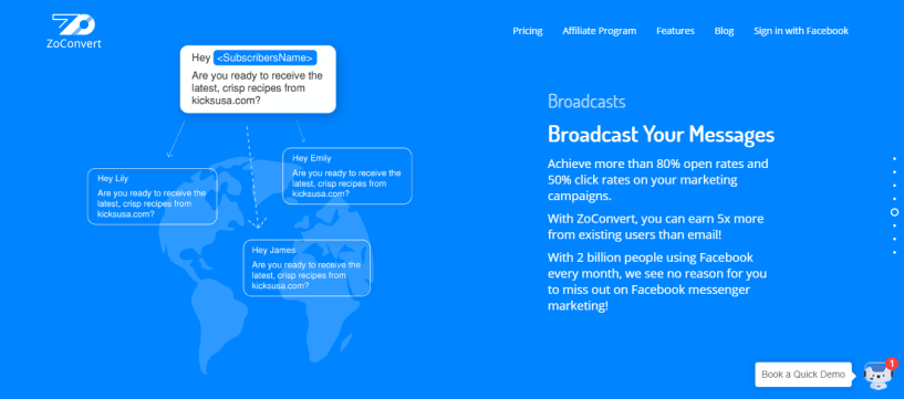 ZoConvert review -broadcast messages