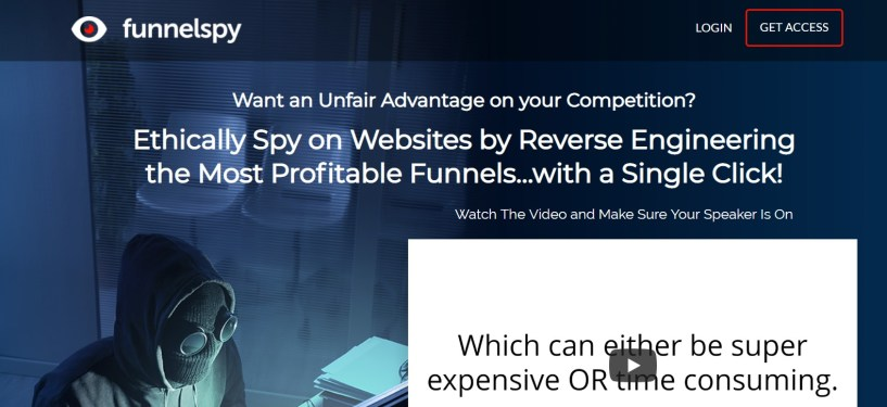 FunnelSpy- Reverse Engineer Profitable Funnels
