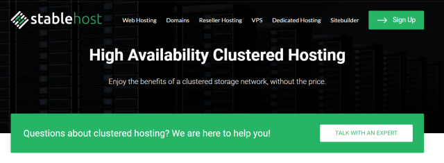 StableHost Review- The Cluster Shared Hosting