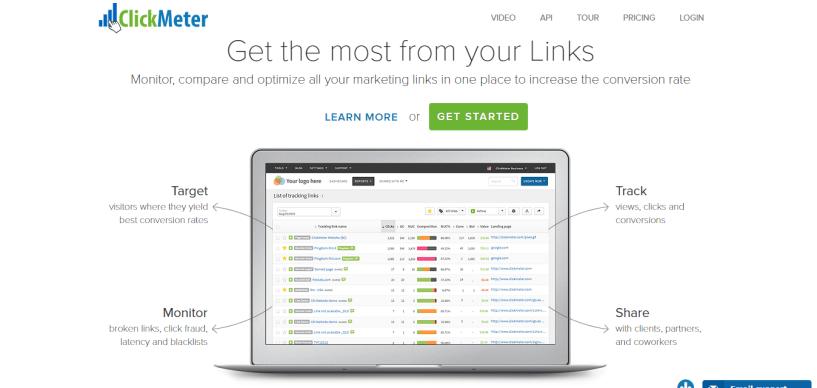 Best Clickmagick alternatives-clickmeter