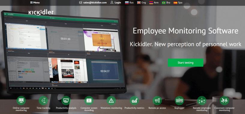 Kickidler Review- Legit Employee Monitoring Software