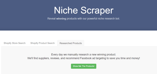 Niche Scraper Review- Hunt Winning Products