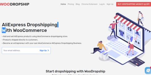 WooDropship or AliDropship plugin