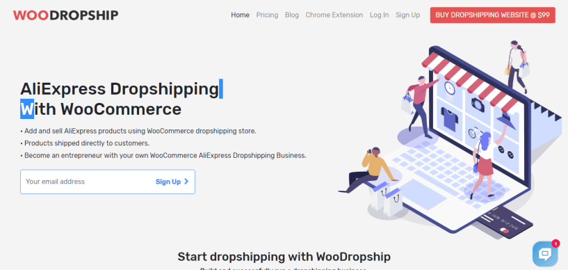 WooDropship or AliDropship plugin