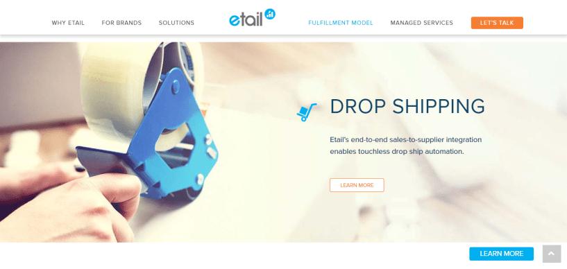 eTail Dropshipping tool