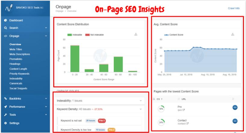 Bavoko SEO Tool Review- On-Oage SEO Insights