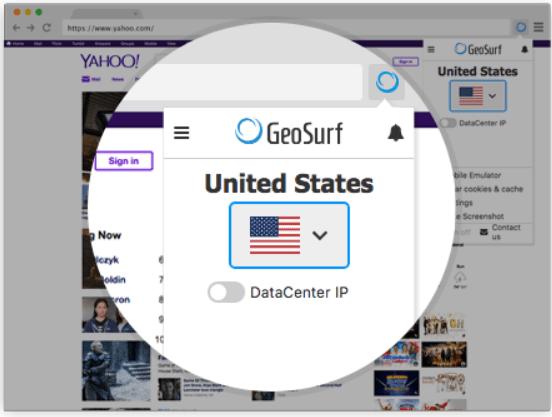GeoSurf- GeoSurf ToolBar