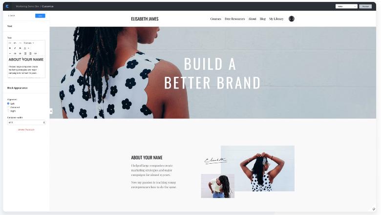 Kajabi Review- Build A Beautiful Website