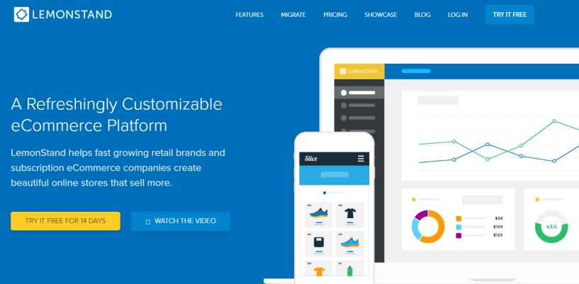 LemonStand Review- Cloud Ecommerce Software Platform