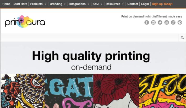 Print Aura Review- Print on Demand Dropshipping