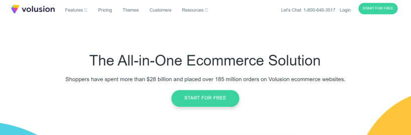 Shopify Alternatuve- Volusion