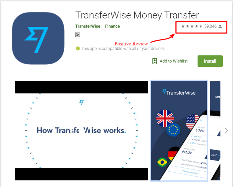 TransferWise Review- Money Transfer Apps on Google Play