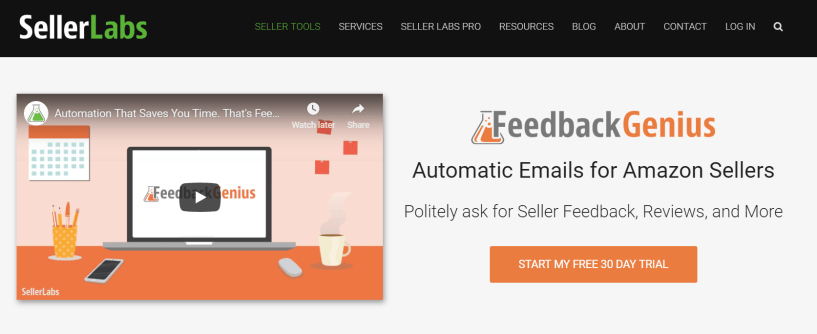 FeedBack Genius- Amazon Seller Tools