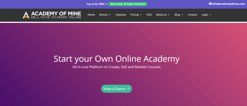 Academy Of Mine Review- How to Sell Courses Online